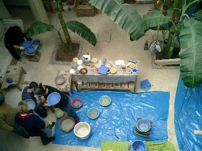 Tierrfino workshop marrakech for Tadelakt auf fliesen